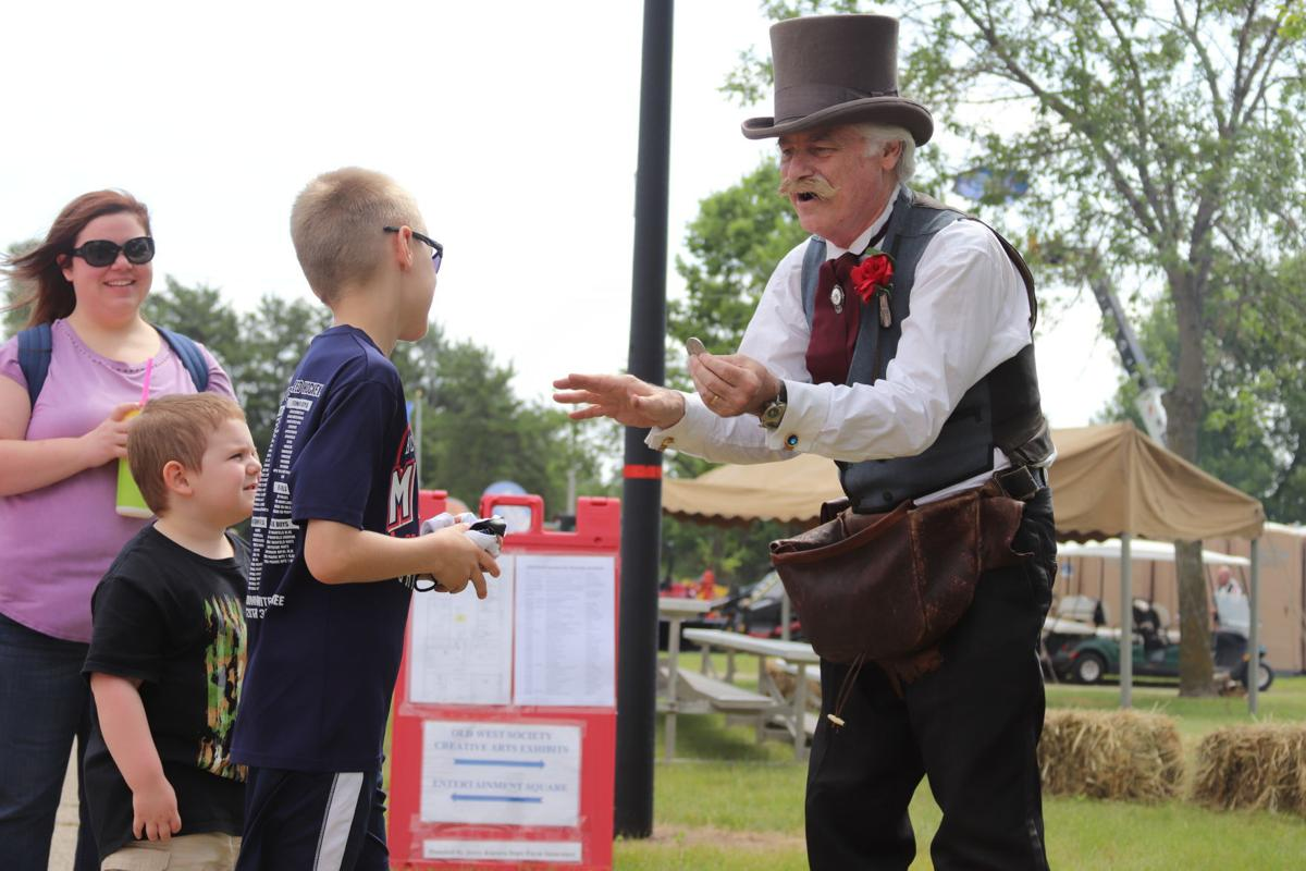 Magic at the Scott County Fair