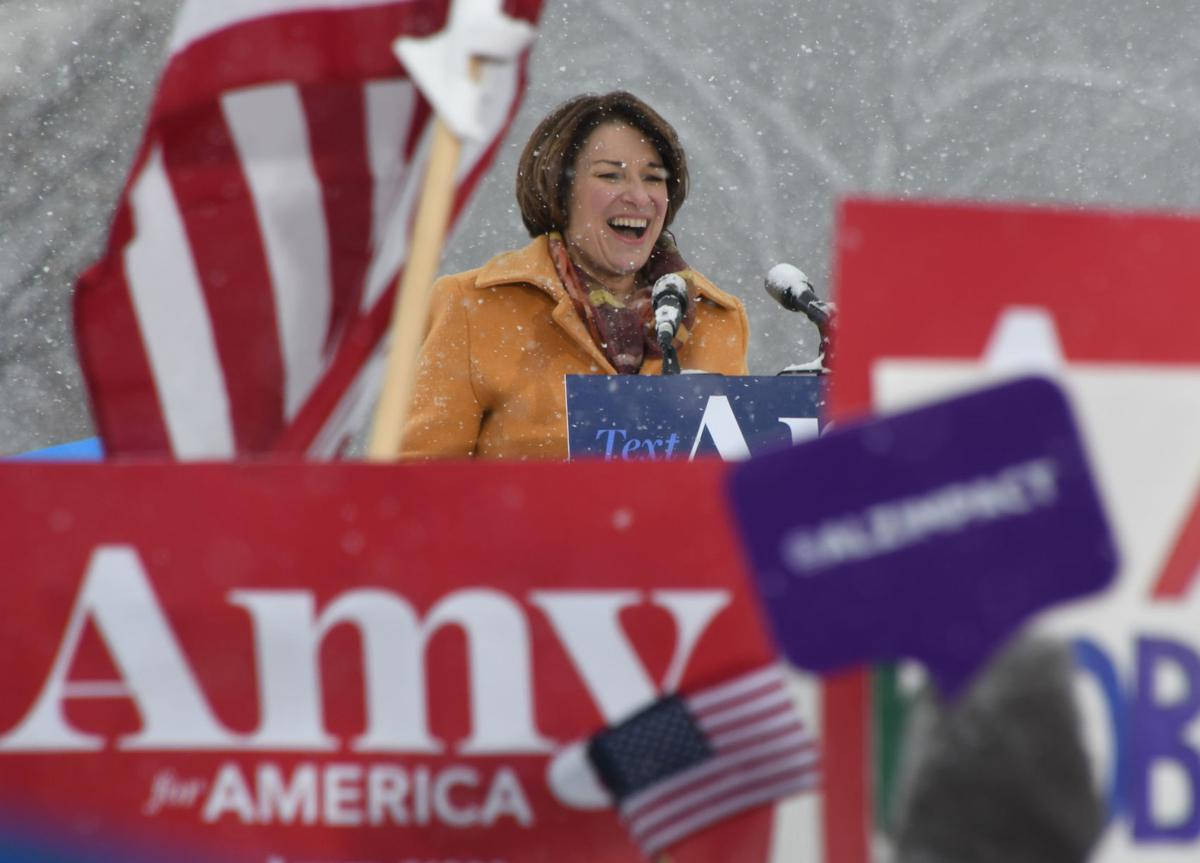 Amy Klobuchar presidential announcement
