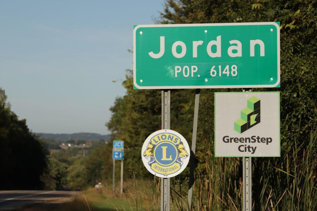 Jordan GreenSteps sign