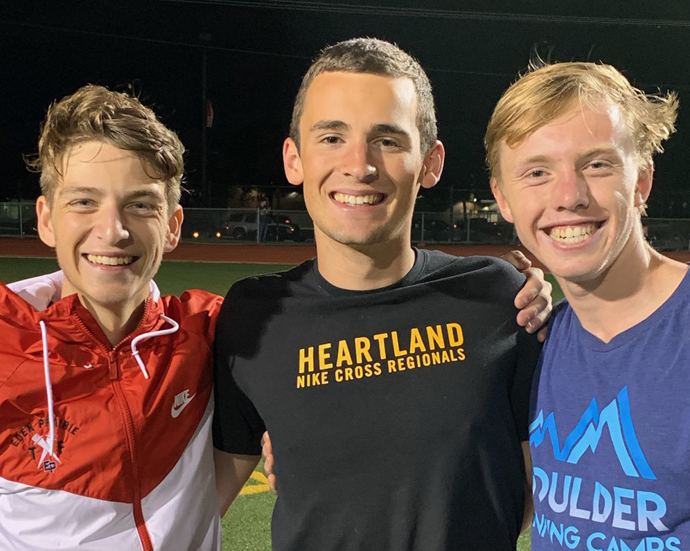 2019 EPHS boys cross-country captains