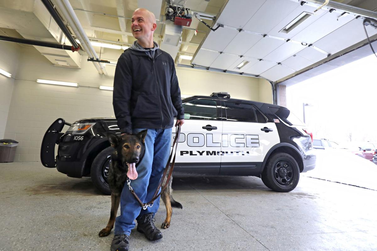 Plymouth Police Department K9 Romeo and Officer Grabau