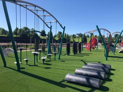 Grassmann Park ninja course