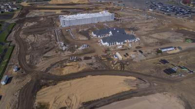 Canterbury Commons construction