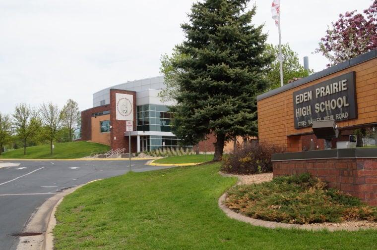 Eden Prairie High School sign