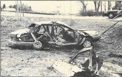 Car wreck 1996