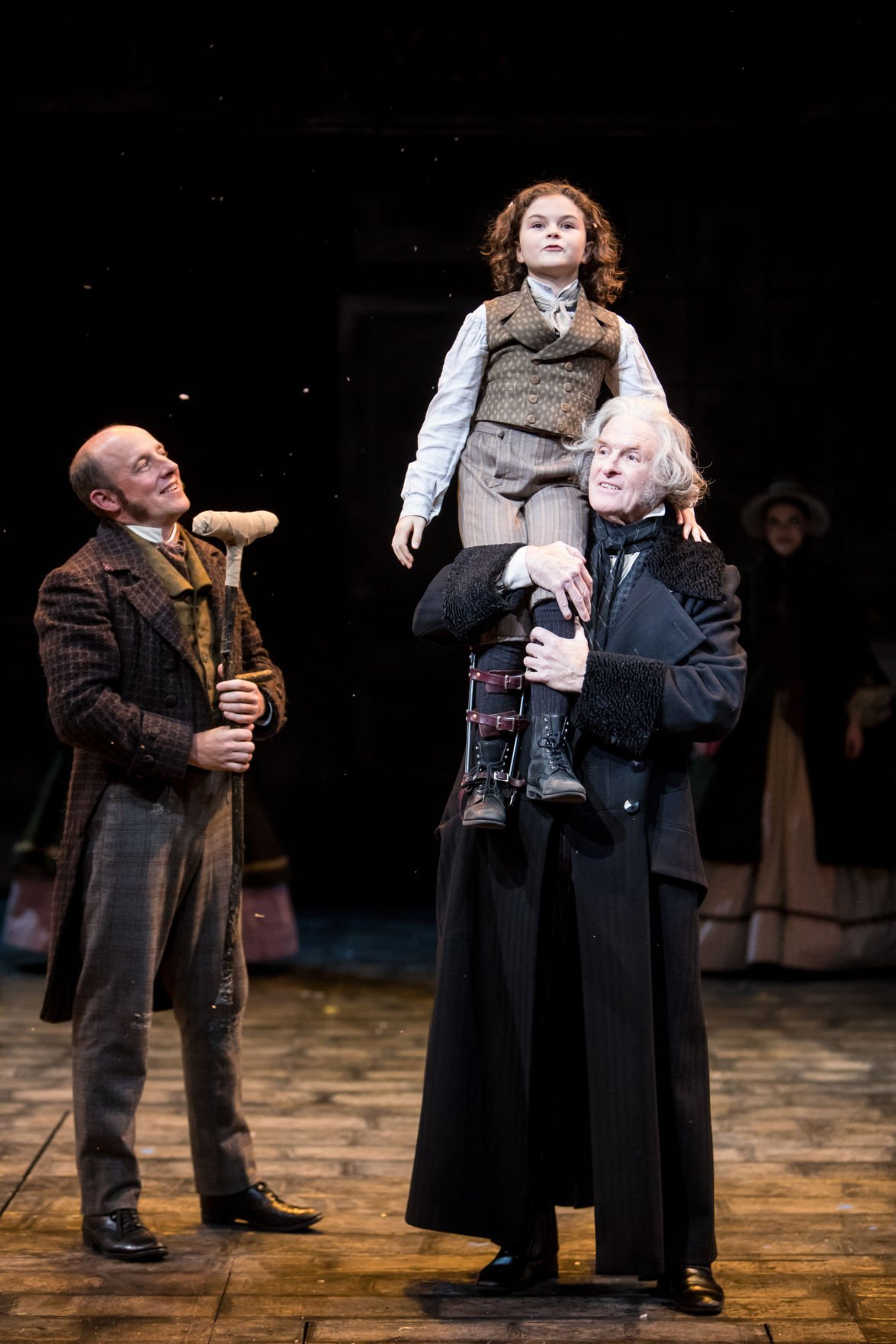 Tiny Tim A Christmas Carol.Guthrie Casts 10 Year Old Chaskan As Tiny Tim In A