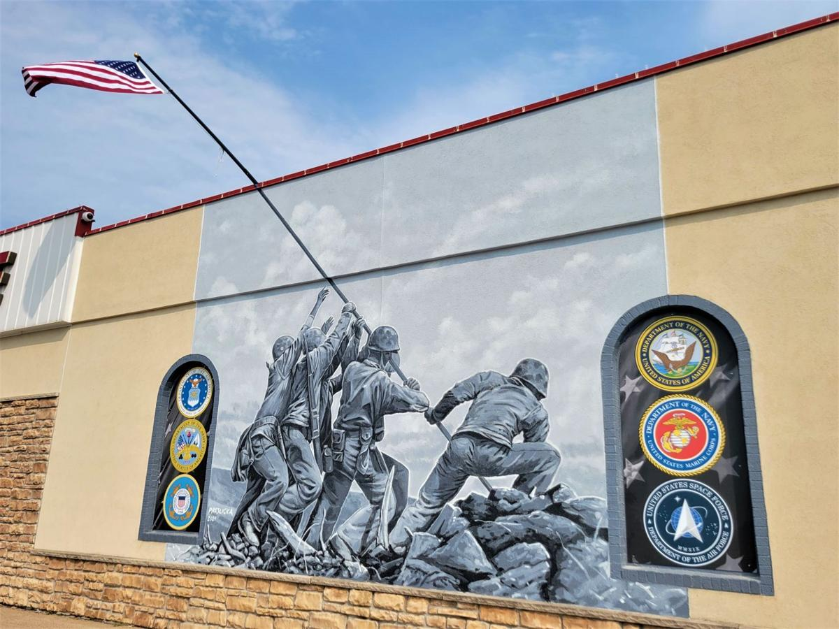 Iwo Jima Mural