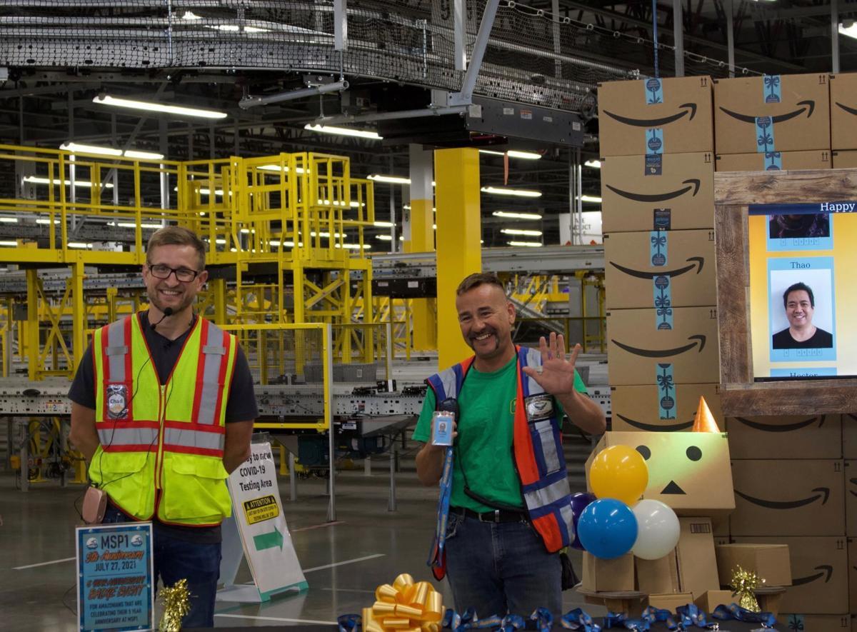 Amazon employees in Shakopee