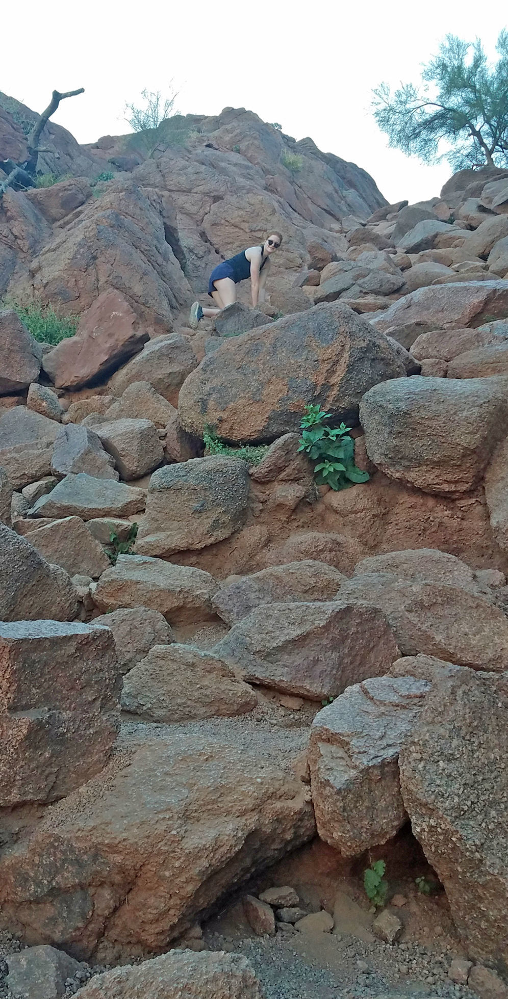 Echo Canyon rocks.