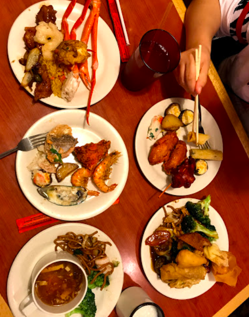 Hong Kong Buffet - food