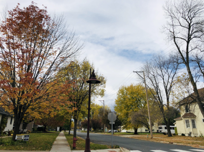 Downtown Savage in autumn