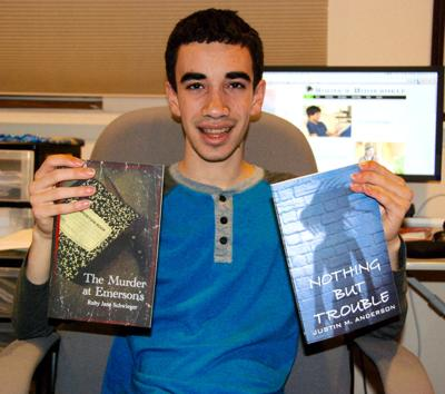 Justin Anderson with titles published by Sigma's Bookshelf