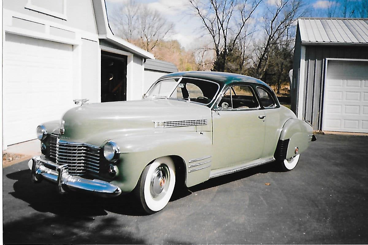 Richard Bury's 1941 Cadillac