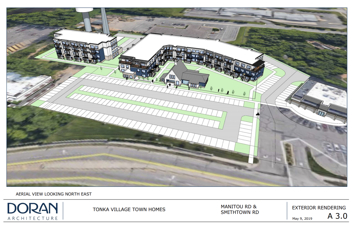 Tonka Village Shopping Center development