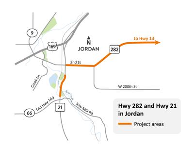 Hwy 282 Jordan 2021