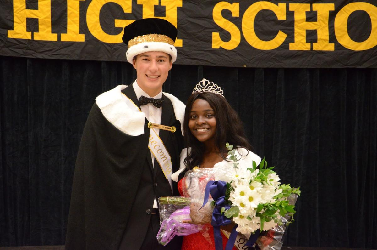 BHS Homecoming king and queen