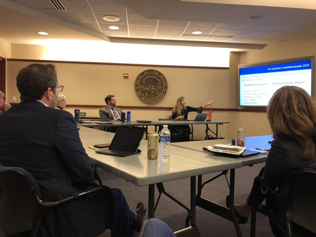Scott County board meeting