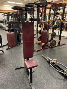 Jordan weight room - pec deck