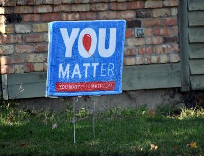Matt Udermann campaign sign