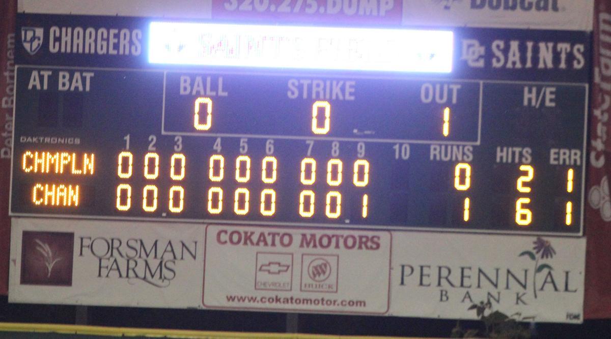 Chan Baseball - Scoreboard