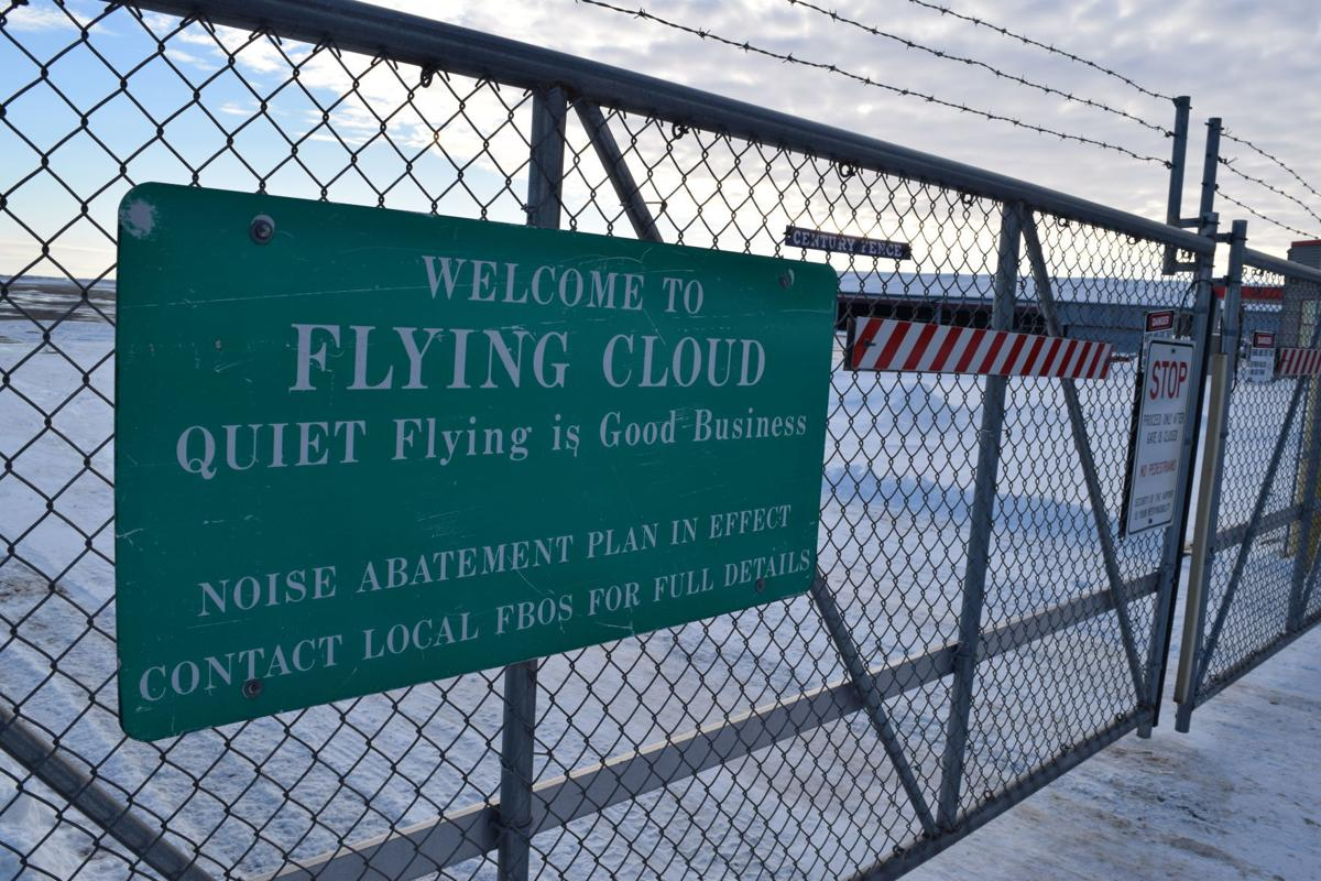 Flying Cloud sign