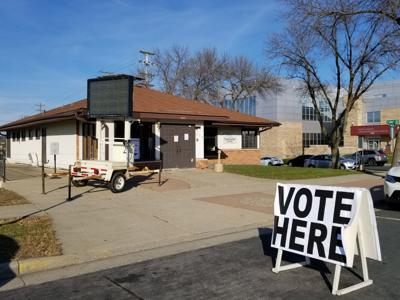 Early voting booth Shakopee
