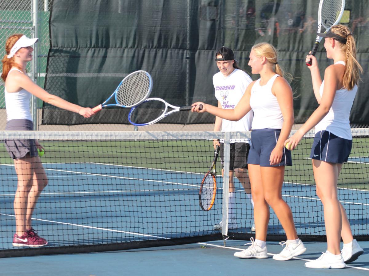 Chan-Chaska Tennis - First Doubles
