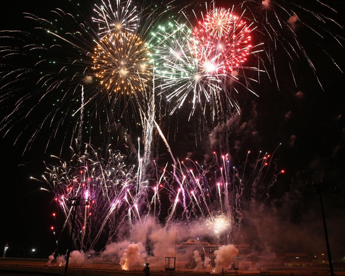 Canterbury fireworks