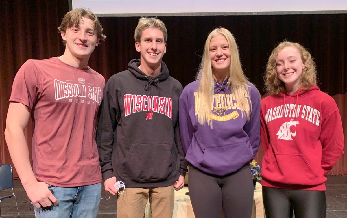 Chan Signing Day - Swimmers