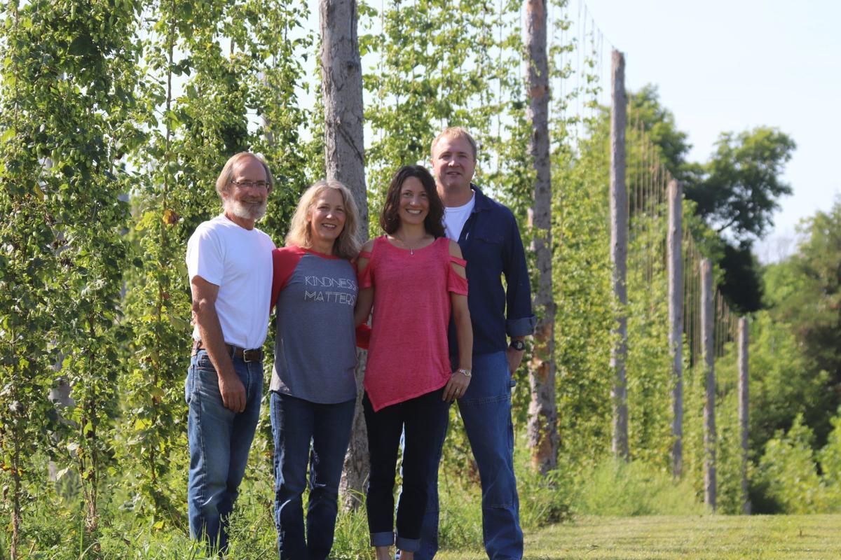 Giant's Harp Hopyard owners