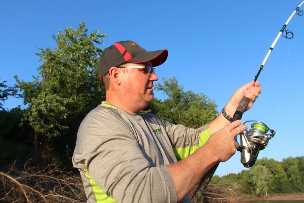 Fishing for catfish 1