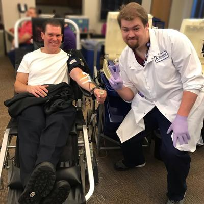 Shakopee Police Department blood drive