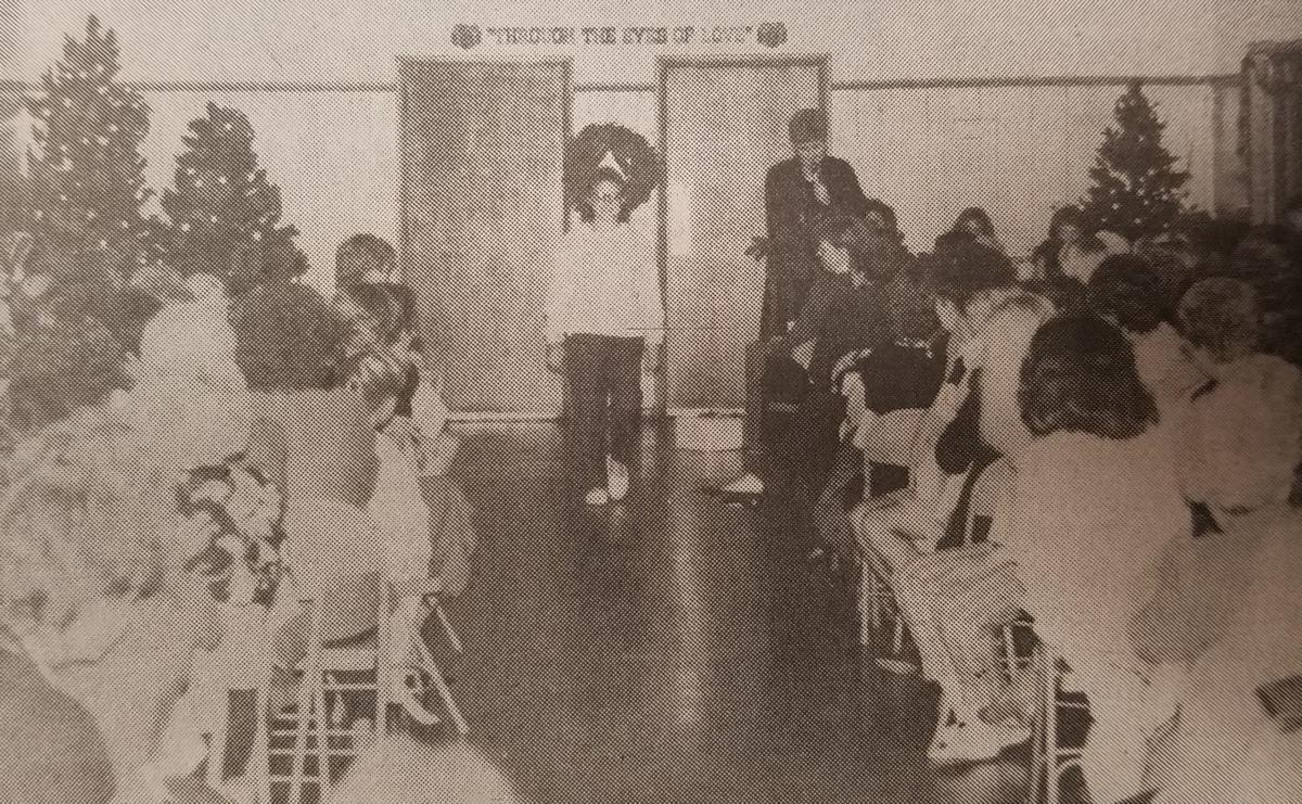 1989 Jordan fashion show