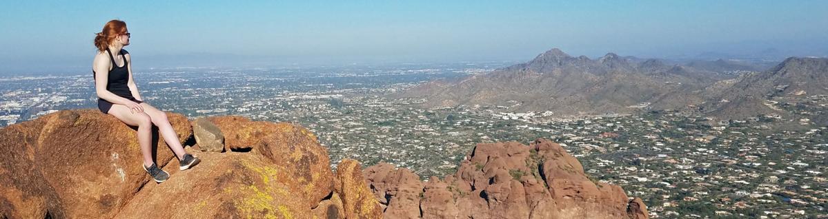Echo Canyon view