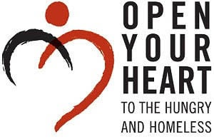 Open Your Heart To the Hungry and Homeless