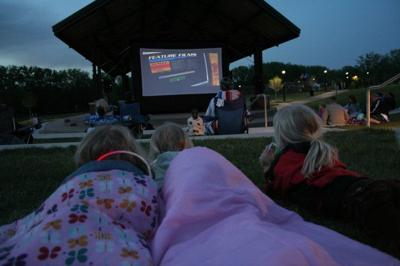Movie at Huber Park