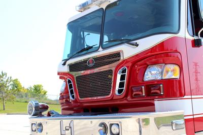 Shakopee Firetruck stock photo