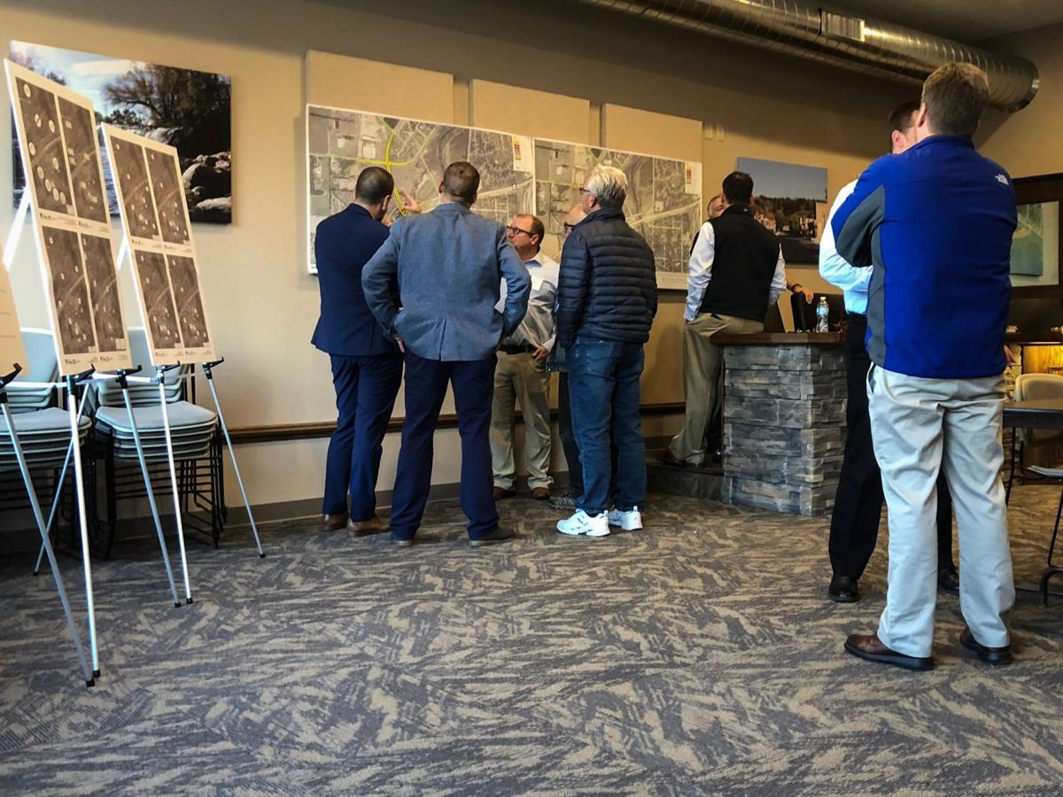 Highways 169 and 282 and County Road 9 open house