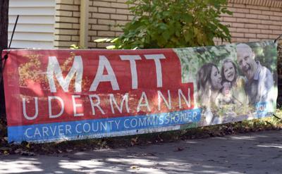 Udermann campaign sign