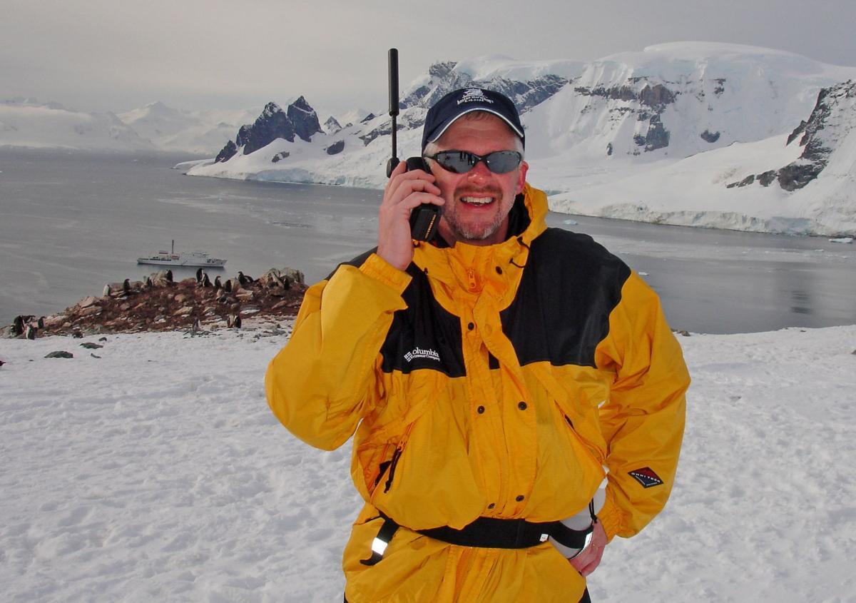 Jeff Smedsrud Antarctica