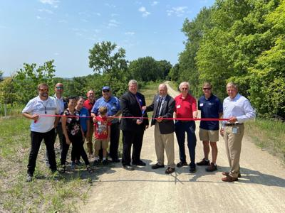 Trail reopening