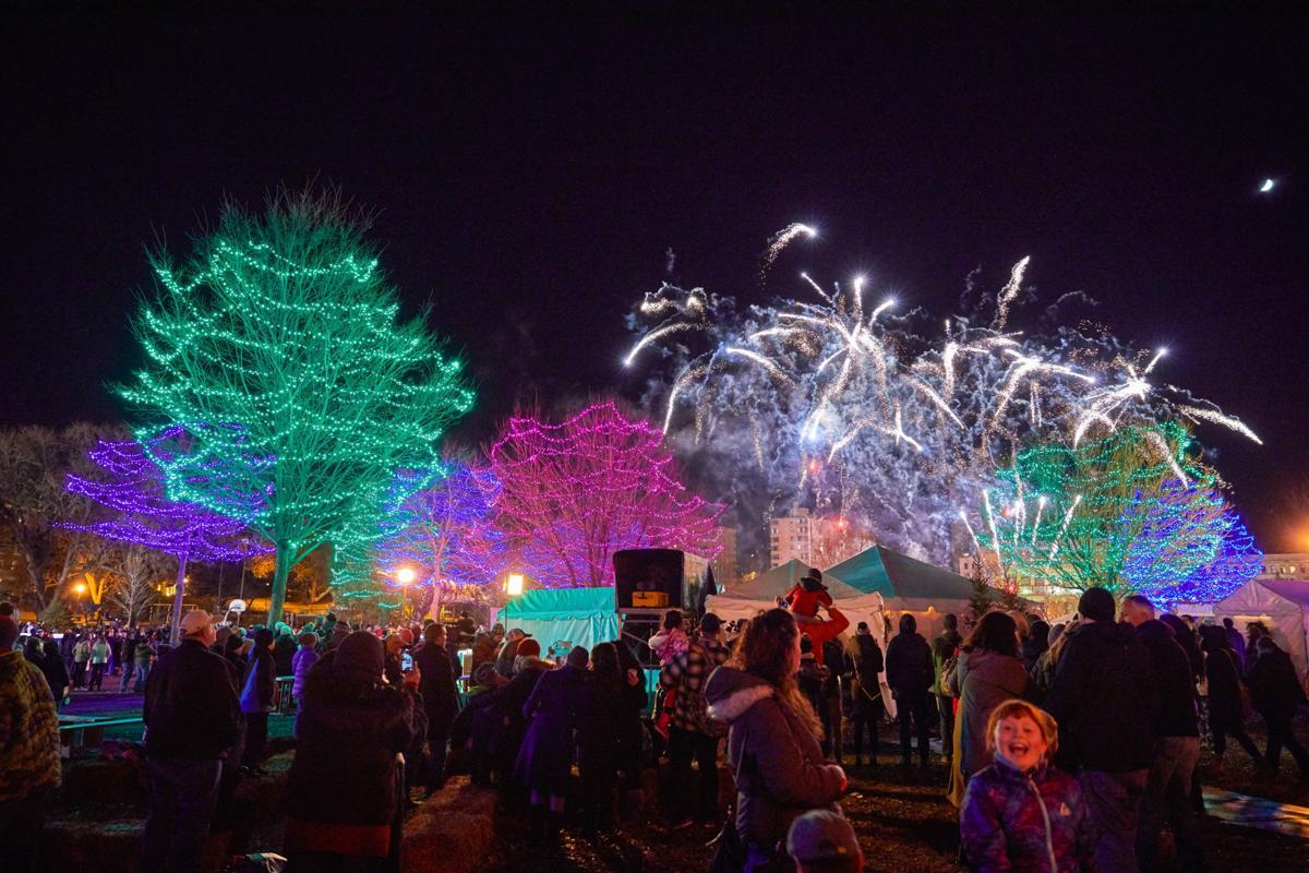 2018 Holidazzle fireworks