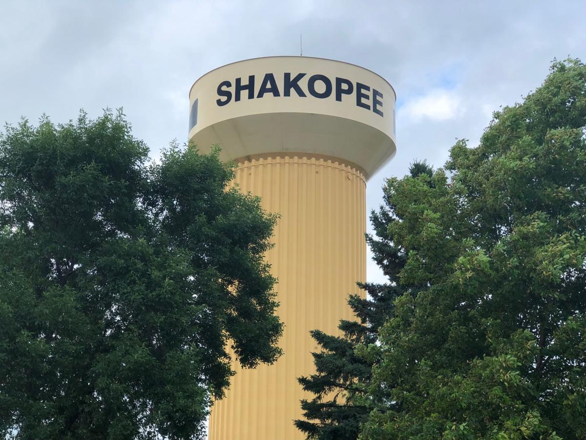 Shakopee water tower