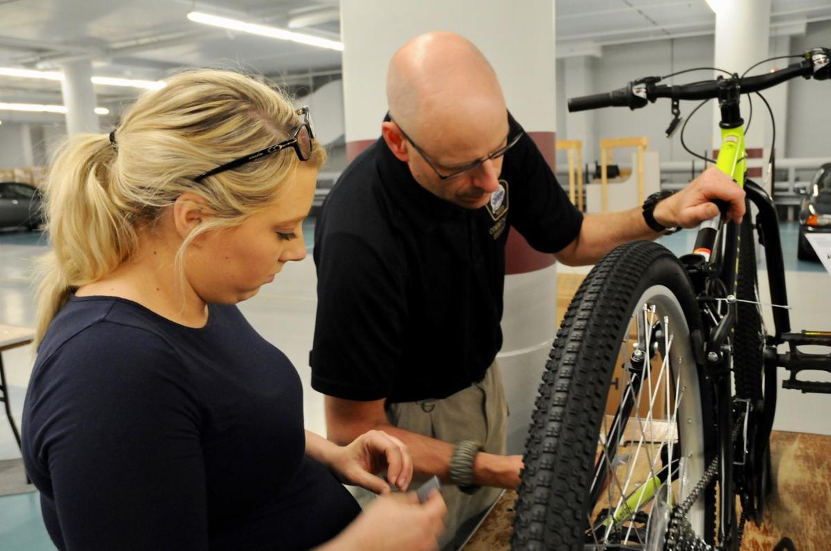 Thomson Reuters bike building