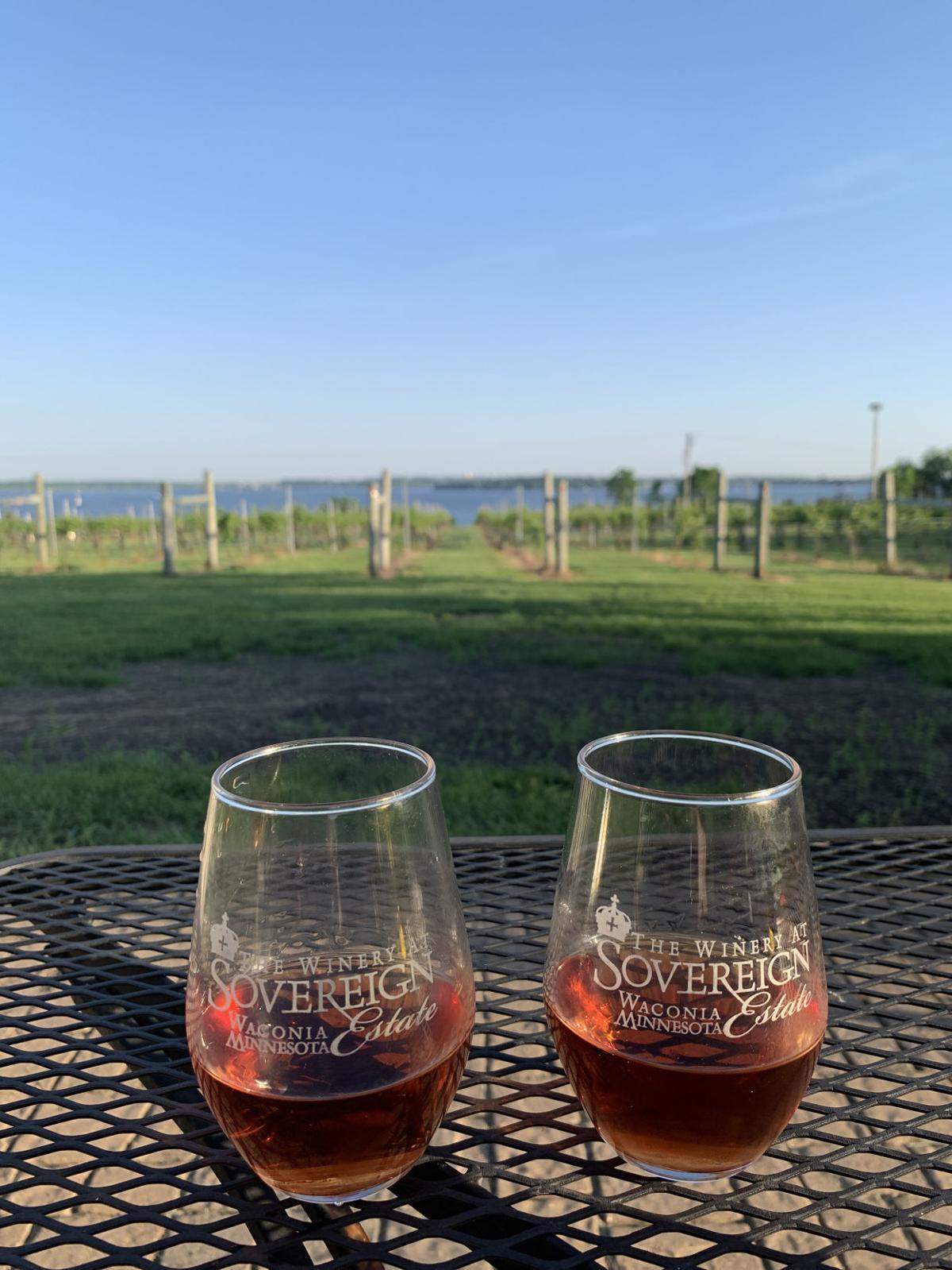 Sovereign Estate winery waconia