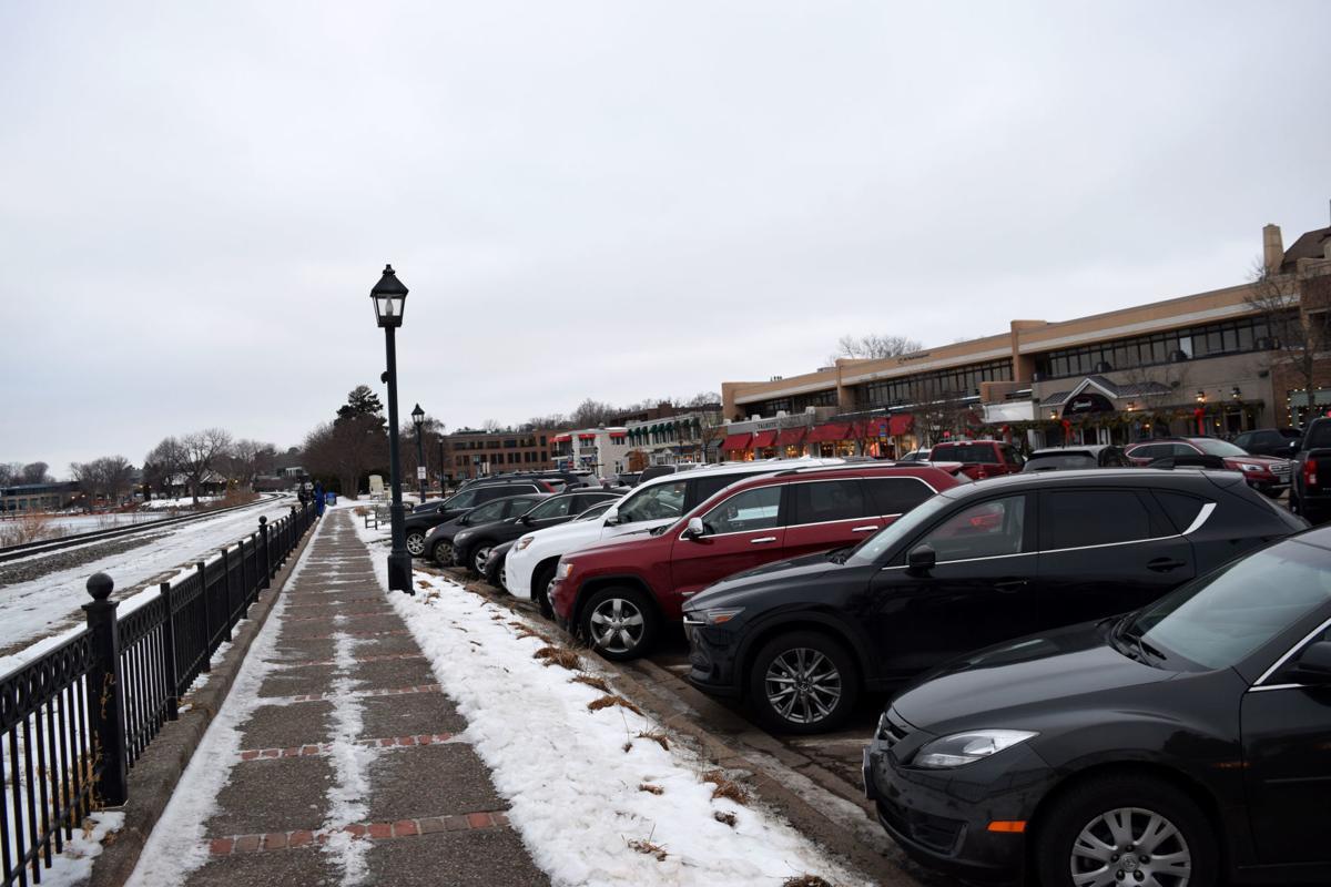 Lake Effect parking lot
