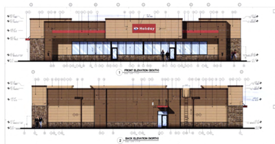 Holiday Station Store — rendering