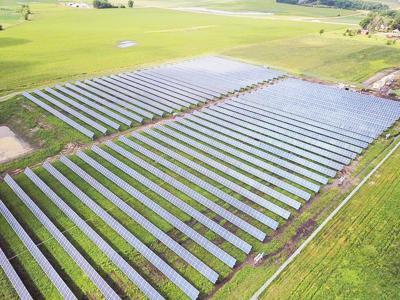 Lake Patterson Solar Garden