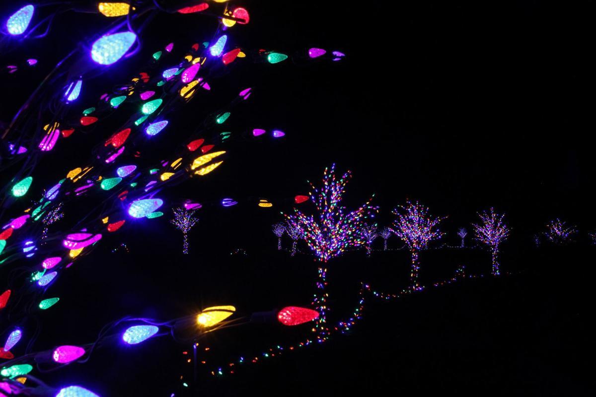 Lighted paths