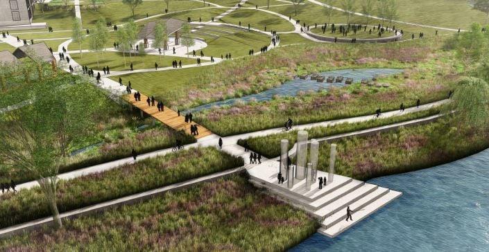 Riverfront vision